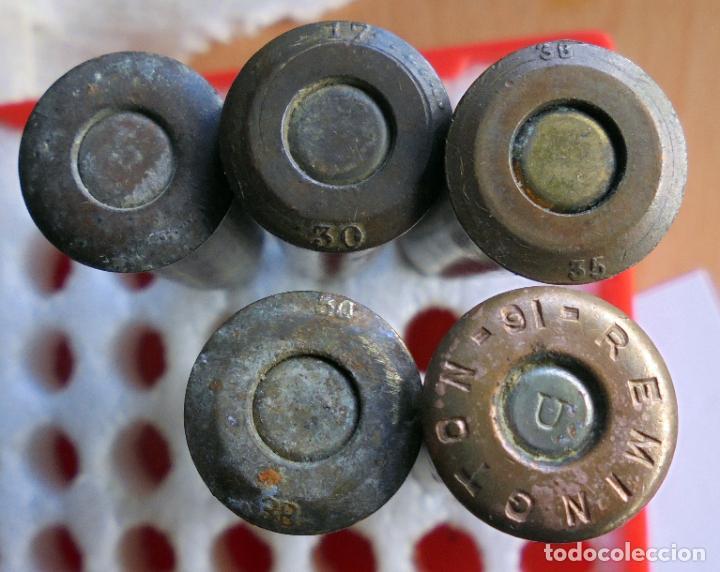 CARTUCHOS 7,62 X 54R RUSO.DIFERENTES MARCAJES ,GUERRA CIVIL ESPAÑOLA.INERTES (Militar - Cartuchería y Munición)
