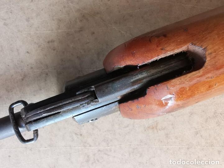 Militaria: CARABINA DE AIRE COMPRIMIDO C Y T . BASCARAN EIBAR MODELO COMETA V - 5 ------nº serie 11299 - Foto 75 - 210801751