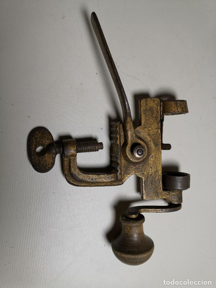Militaria: Máquina herramienta para cargar cartuchos de caza, cal. 16 .normales y lefaucheux.RECARGA - Foto 3 - 186376321