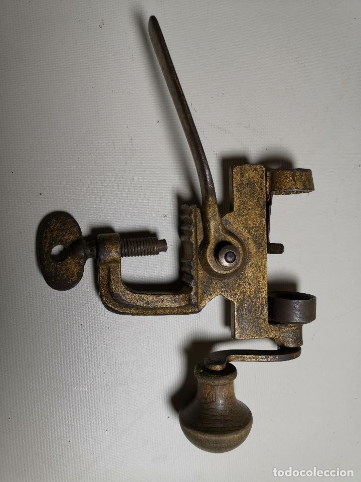 Militaria: Máquina herramienta para cargar cartuchos de caza, cal. 16 .normales y lefaucheux.RECARGA - Foto 4 - 186376321