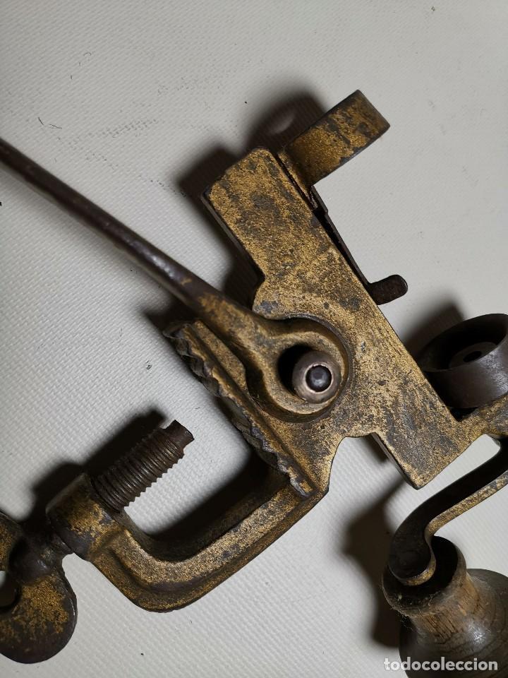 Militaria: Máquina herramienta para cargar cartuchos de caza, cal. 16 .normales y lefaucheux.RECARGA - Foto 6 - 186376321