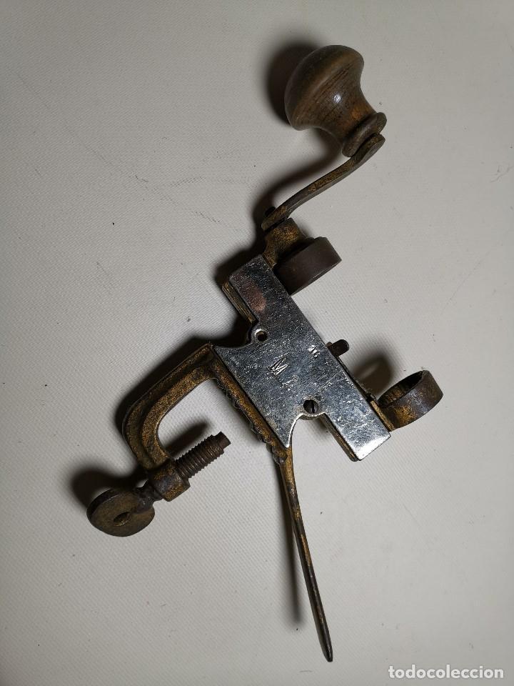 Militaria: Máquina herramienta para cargar cartuchos de caza, cal. 16 .normales y lefaucheux.RECARGA - Foto 9 - 186376321