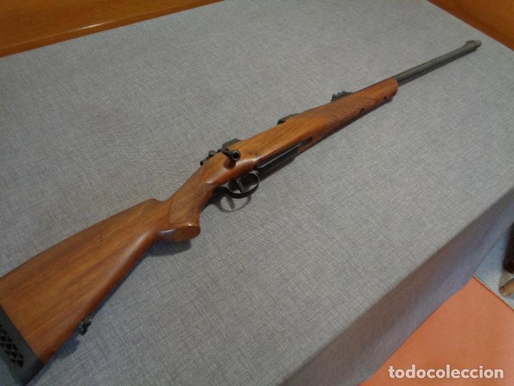 RIFLE MARCA BRNO ZKK 602 CALIBRE 375H&H MAGNUM (Militar - Armas de Fuego en Uso)