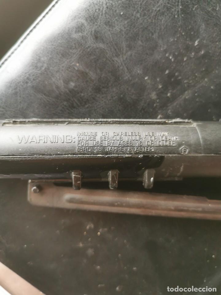 Militaria: Cañón y cuerpo de carabina gamo delta aire comprimido. Calibre 4,5 - Foto 5 - 187592087