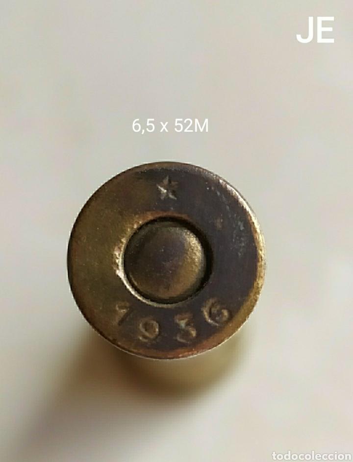GCE CARTUCHO INERTE 6,5 X 52, ORIGEN AUSTRIA ( *1936 ) (Militar - Cartuchería y Munición)