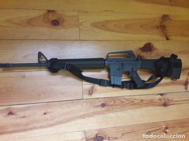 Militaria: AR 15a2 222.rem Orginal Colt - Foto 2 - 191473478