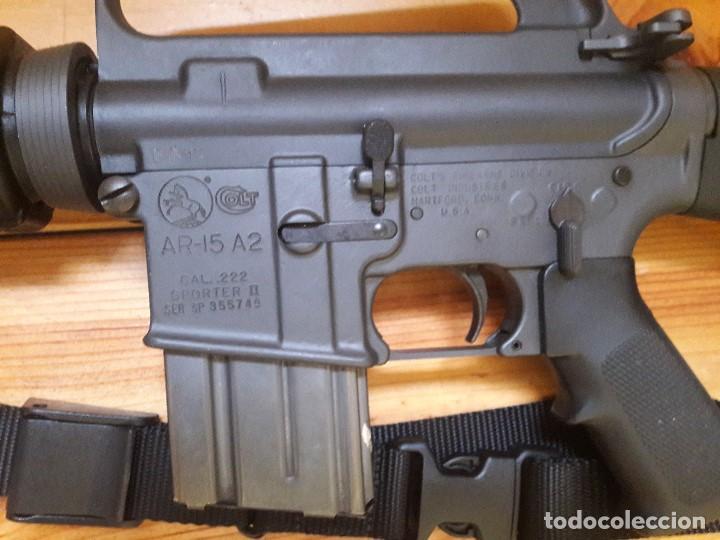 Militaria: AR 15a2 222.rem Orginal Colt - Foto 3 - 191473478