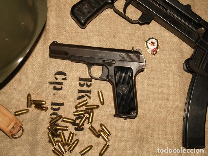 PISTOLA TOKAREV TT33, INUTILIZADA (Militar - Armas de Fuego Inutilizadas)