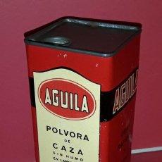 Militaria: LATA POLVORA DE CAZA AGUILA. Lote 191739950
