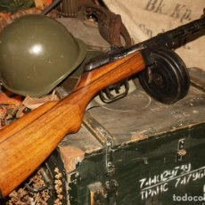 Militaria: SUBFUSIL RUSO PPSH 41 INUTILIZADO. Lote 192575302