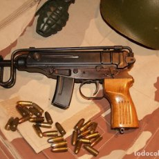 Militaria: SUBFUSIL, PISTOLA AMETRALLADORA SKORPION VZ61 INUTILIZADO. Lote 192583740