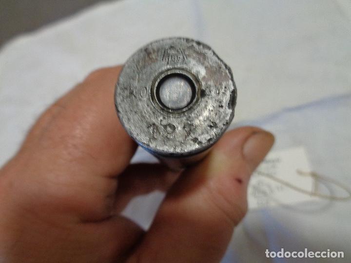 Militaria: bala calibre 20 avión alemán Messerchmitt segunda guerra - Foto 4 - 192908008