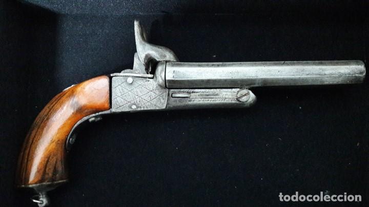 Militaria: Pistola antigua Lefaucheux - Foto 4 - 193965311