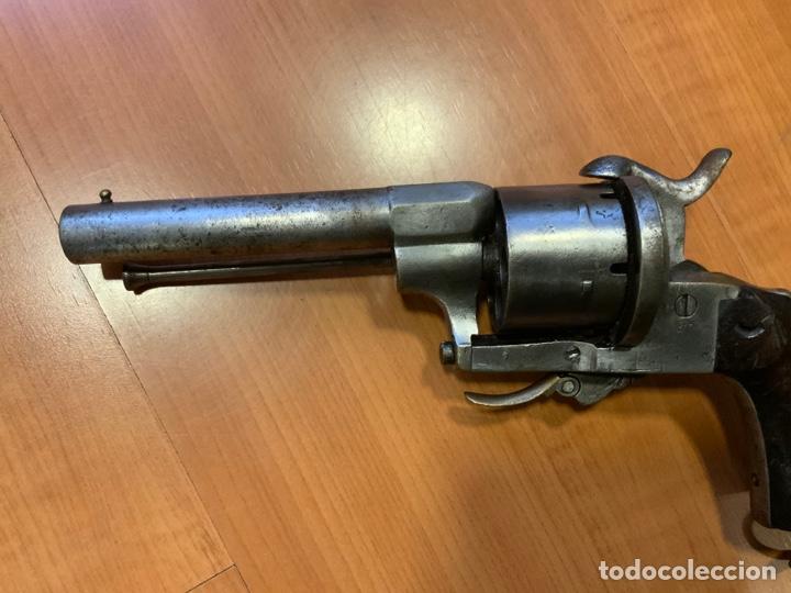 Militaria: Antiguo revolver del siglo xix. Inutilizado por el tiempo - Foto 2 - 194029370