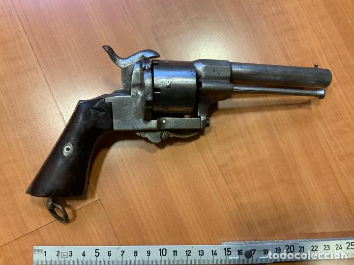 Militaria: Antiguo revolver del siglo xix. Inutilizado por el tiempo - Foto 4 - 194029370