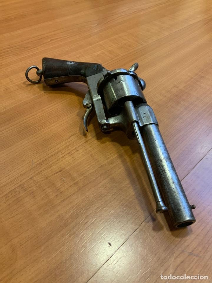 Militaria: Antiguo revolver del siglo xix. Inutilizado por el tiempo - Foto 6 - 194029370