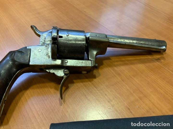 Militaria: Antiguo revolver del siglo xix. Inutilizado por el tiempo - Foto 7 - 194029370