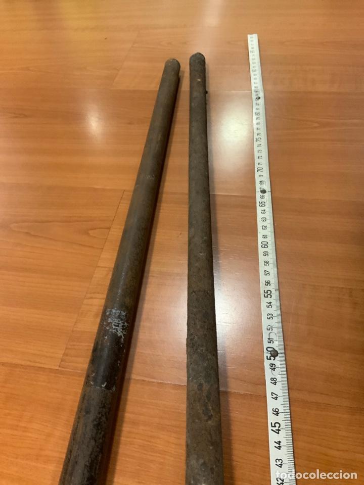 Militaria: Lote de dos cañones de pistón del s.xix - Foto 3 - 194120513