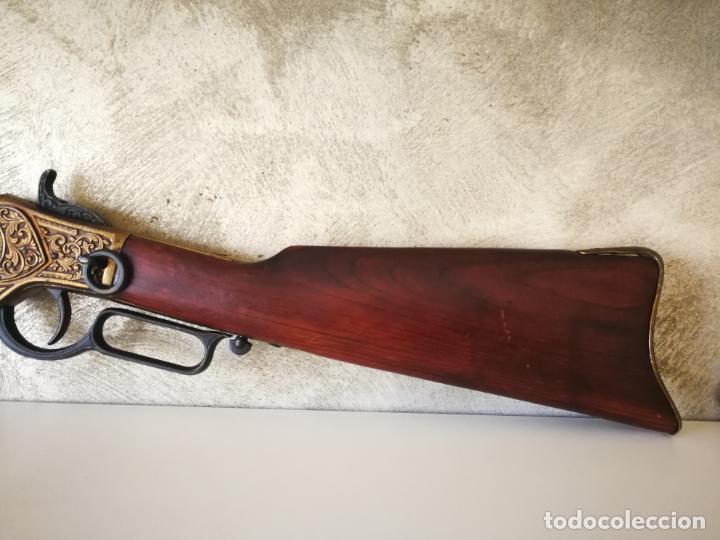Militaria: REPLICA RIFLE WINCHESTER 1873 - Foto 5 - 194190227