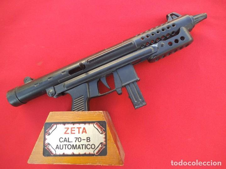 SUBFUSIL ZETA CAL.70 - REPRODUCCIÓN DE SUBFUSIL ZETA CAL. 70-B AUTOMATICA (Militar - Réplicas de Armas de Fuego y CO2 )