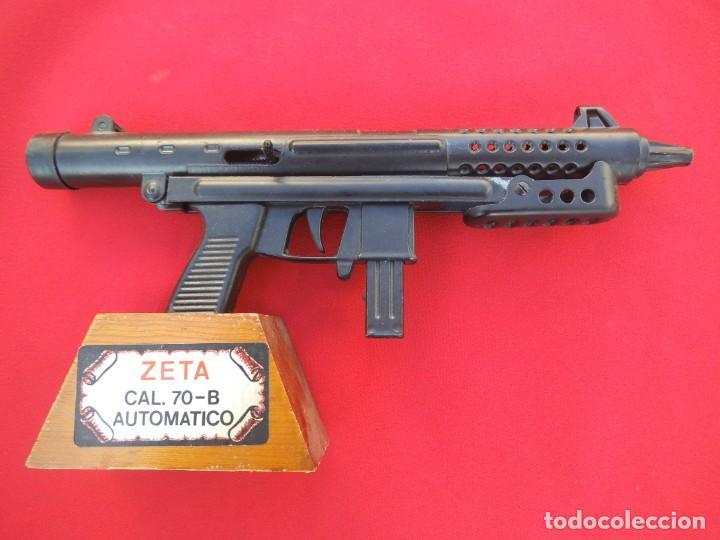 Militaria: SUBFUSIL ZETA CAL.70 - REPRODUCCIÓN DE SUBFUSIL ZETA CAL. 70-B AUTOMATICA - Foto 2 - 194302635