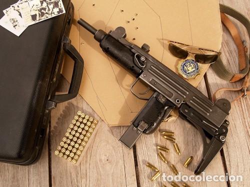 SUBFUSIL UZI ORIGINAL ISRAELÍ, INUTILIZADO (Militar - Armas de Fuego Inutilizadas)