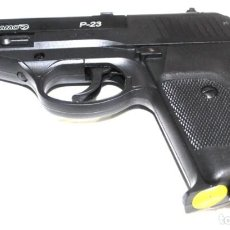 Militaria: PISTOLA GAMO 4.5 P-23 A GAS CO2 CALIBRE 4,5 8 DISPAROS . Lote 195082546