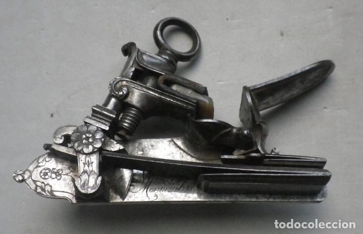 Militaria: LUJOSA PISTOLA DE CHISPA ESPAÑOLA FABRICADA EN 1828 POR FAMOSO ARCABUCERO - Foto 10 - 195263948