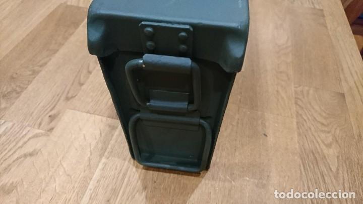 Militaria: Caja de municion alemana Patronenkasten 41. Vacia. - Foto 4 - 195335161