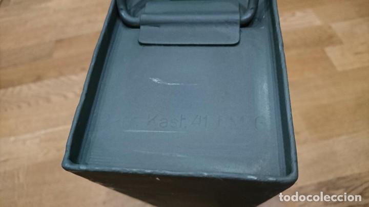 Militaria: Caja de municion vacia para MG 42, Werkzeugkasten - Foto 3 - 195335663