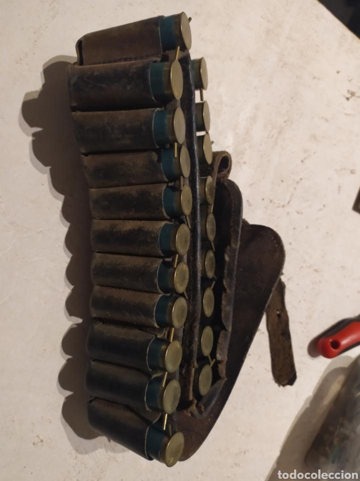 Militaria: Canana cartuchos Lefaucheaux sin usar, inertes - Foto 2 - 195789632