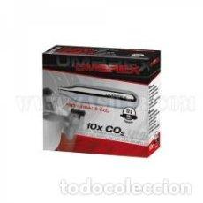 Militaria: CÁPSULA UMAREX CO2 12 G PACK 10 CAPSULAS. Lote 197043467