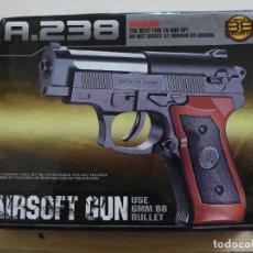 Militaria: PISTOLA AIRSOFT GUN A.238. Lote 197288096