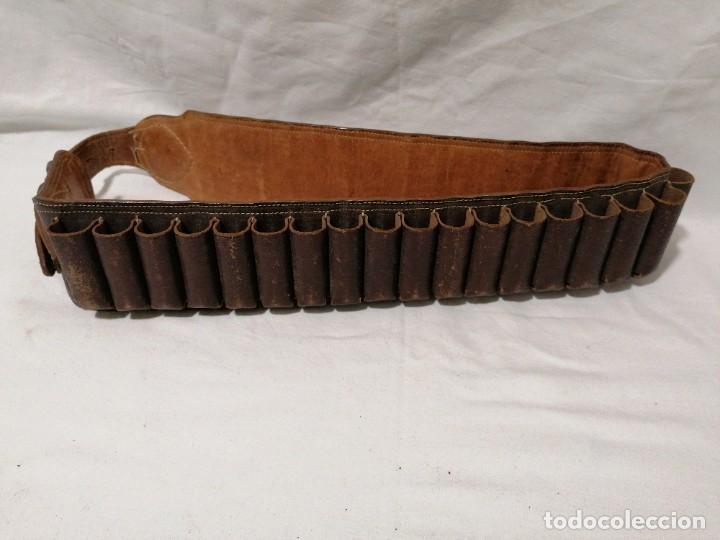 Militaria: Cinturón para cartuchos - Foto 3 - 197405980