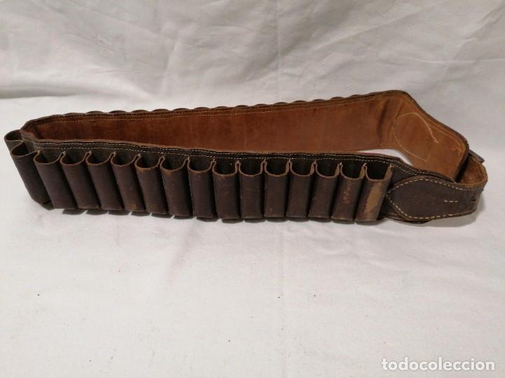 Militaria: Cinturón para cartuchos - Foto 4 - 197405980