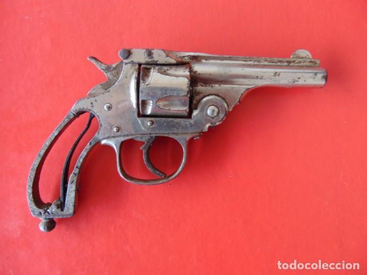ANTIGUO REVOLVER PARA COLECCIÓN INUTILIZADO CALIBRE 32 SMITH & WESSON (Militar - Armas de Fuego Inutilizadas)