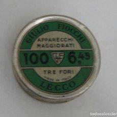 Militaria: CAJA PISTONES VACIA. Lote 198391601