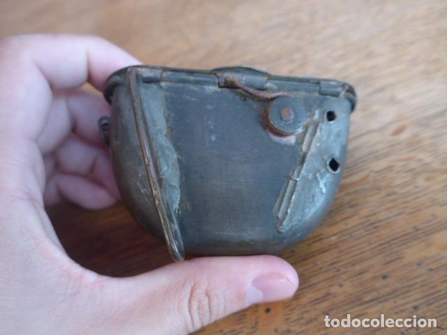 Militaria: Antigua y rara cartuchera para municion de la guerra independencia o anterior, original. - Foto 3 - 198640105