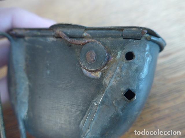 Militaria: Antigua y rara cartuchera para municion de la guerra independencia o anterior, original. - Foto 5 - 198640105