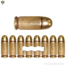 Militaria: BALAS INERTE SUBFUSIL M1 USA SEGUNDA GUERRA MUNDIAL ** LOTE 24 CARTUCHOS. Lote 199056030
