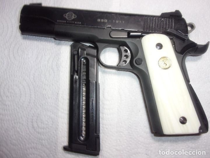 Militaria: PISTOLA GERMAN SPORT GUNS GMBH GSG1911 CAL22 - Foto 2 - 199410541