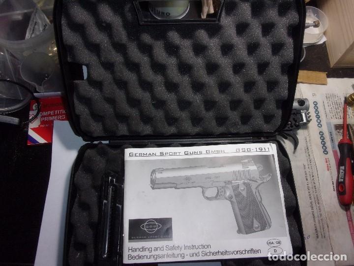 Militaria: PISTOLA GERMAN SPORT GUNS GMBH GSG1911 CAL22 - Foto 4 - 199410541