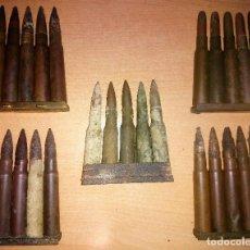 Militaria: 5 PEINES GCE. Lote 200086178