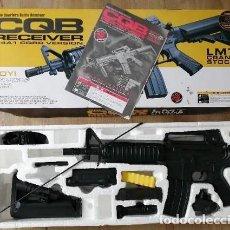 Militaria: RIFLE ELECTRICO M4A1 CQBR BOYI RIFLE AEG AIRSOFT. Lote 202530241
