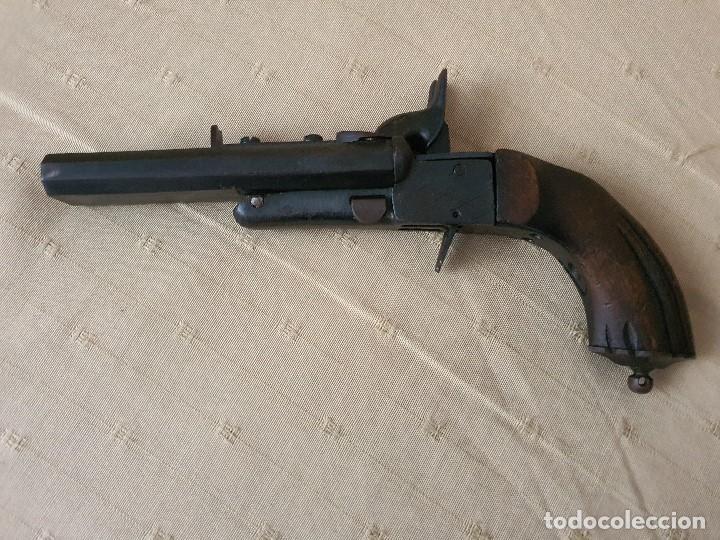PISTOLA LEFAUCHEUX INUTILIZADA POR EL PASO DEL TIEMPO (Militar - Armas de Fuego Inutilizadas)