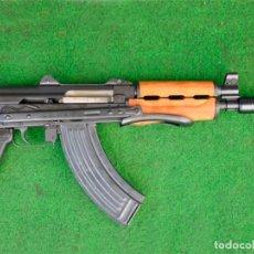 Militaria: FUSIL DE ASALTO AKS74U RUSSIA INUTILIZADO (M92). Lote 203385507