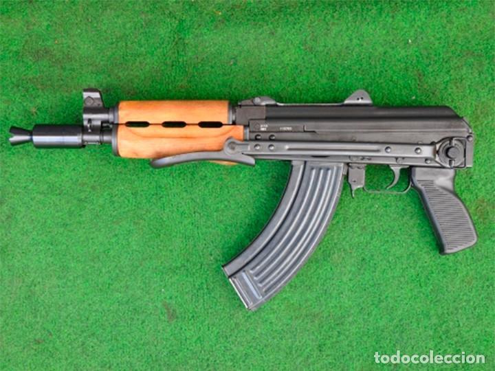 FUSIL DE ASALTO AKS74U RUSSIA INUTILIZADO (M92) (Militar - Armas de Fuego Inutilizadas)