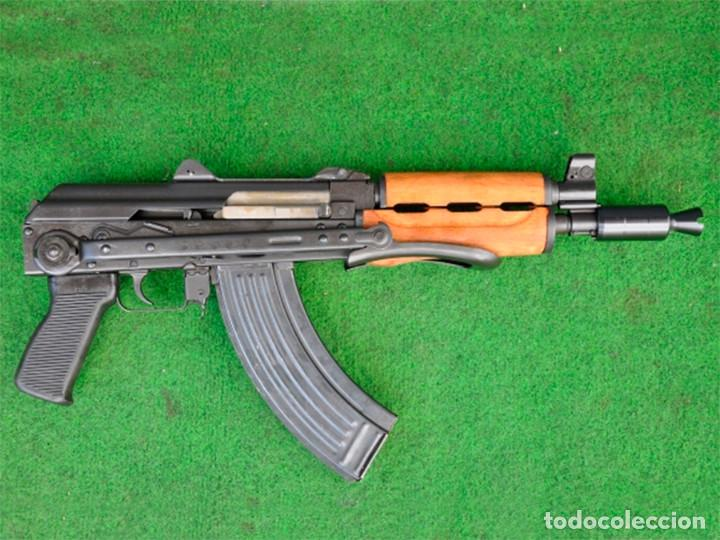 Militaria: FUSIL DE ASALTO AKS74U RUSSIA INUTILIZADO (M92) - Foto 2 - 203385975