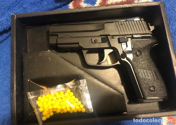 Militaria: HFC pistola replica airsoft 6mm Cuerpo pvc Accionamiento por Muelle - Foto 2 - 203874068