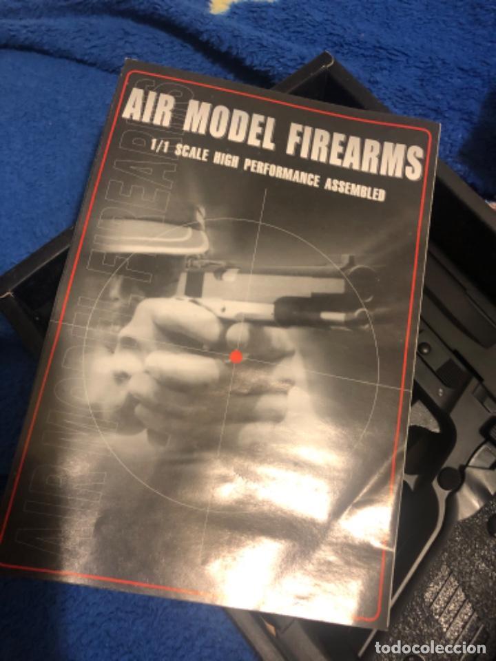 Militaria: HFC pistola replica airsoft 6mm Cuerpo pvc Accionamiento por Muelle - Foto 3 - 203874068